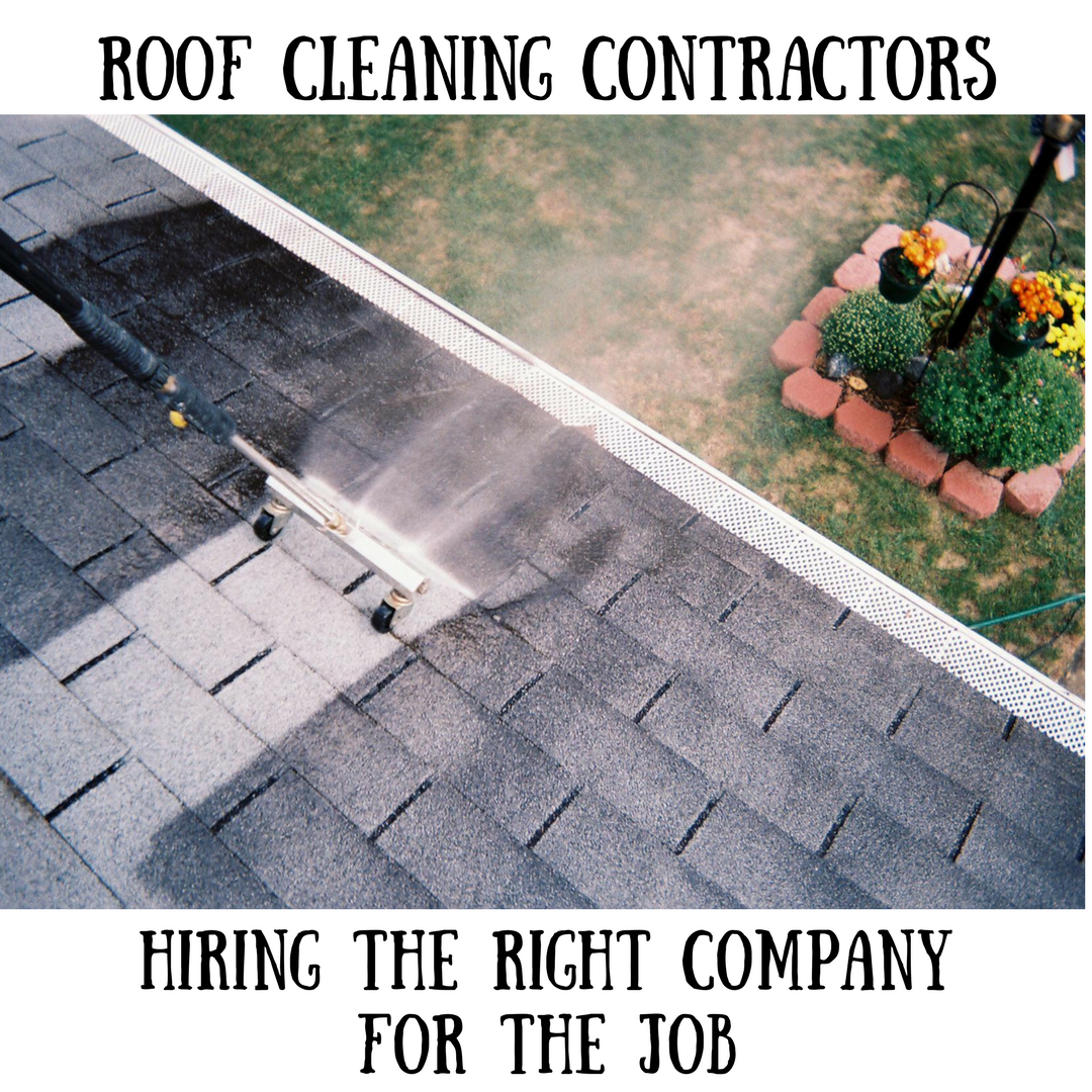 Roof Cleaning Contractors: Hiring the Best Company for the Job