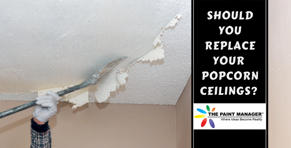 Should You Replace Your Home's Popcorn Ceilings With a Smooth Surface?