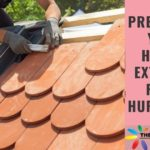 Roof Repair - Prepare Exterior Hurricane