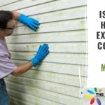 Cleaning Mildew off the exterior of a home
