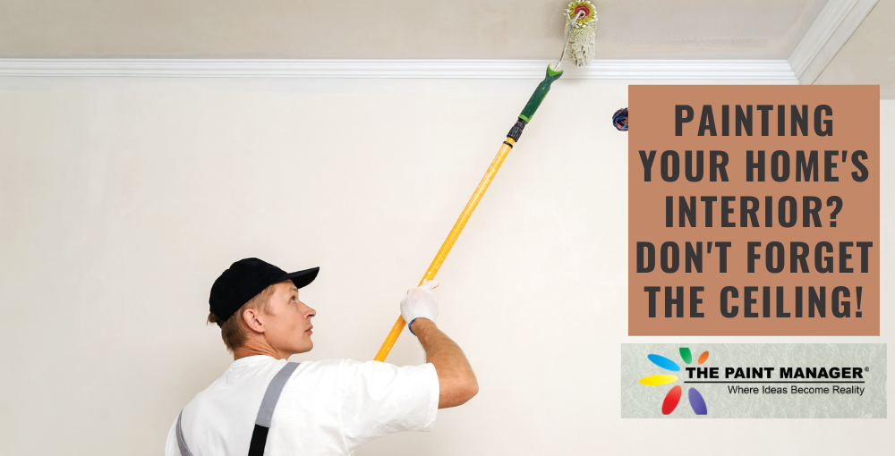 Painting Your Home's Interior? Don't Forget the Ceiling!